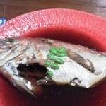 51827858 - 煮魚のアップ
