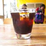 sumo-kuandobejitaburubisutorosaru - 本日のトマトソースパスタ 850円 のアイスコーヒー