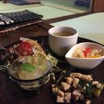 創-HAJIME-cafe - 限定ランチのお惣菜