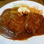 """レストランあづま - """"あづま/カレーライス・ハンバーグ・鮭フライ"""""""