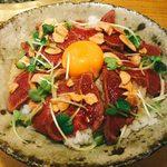 団十郎 - 和牛レアステーキ丼