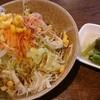にんにく村 - 料理写真:セットのサラダ・香の物。