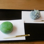 金沢美粋 茶の湯サロン - 水紋と辻ヶ花