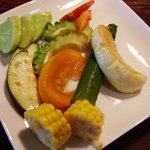 チャフー - 野菜のお漬物までお洒落