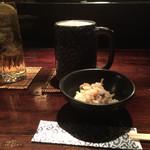 和 BAR 吉田家 - 生ビールとウーロン茶&お通し