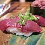 加藤商店 バル肉寿司 since2010 by 炉とマタギ - ハラミ