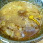 徳川膳武 - カレー味のつけ汁です