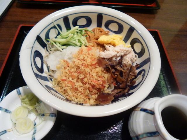 会席料理 寿松庵 - 冷やし花そば(800円)
