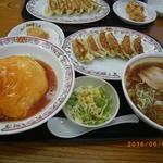 51849362 - 天津飯セット+醤油ラーメン                       1240円