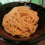 麺diner糸 - 料理写真:特製つけ麺(950円)の麺