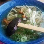 里 - 山菜うどん