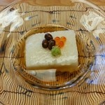 竹生 - 料理写真:山芋の寒天
