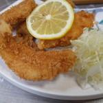 割烹 宝亭 - 夜:地魚フライ