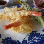 割烹 宝亭 - 昼:天婦羅定食