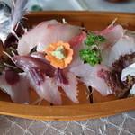割烹 宝亭 - 昼:刺身定食
