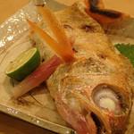 旬菜 ふじ井 - のどぐろ汐焼¥2,300