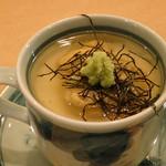 旬菜 ふじ井 - 「雲丹の茶碗蒸し」