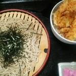 Furusatokikou - 2合、ミニ天麩羅丼880円か980円