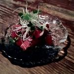 花いちぜん - 三崎産 マグロのポキ (ハワイ風漬け)