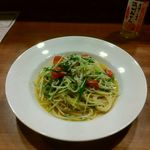 51856700 - しらすと水菜のペペロンチーノ 1280円
