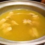 酒家鶏処 炭寅 - みつせ鶏の水炊き