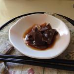 くわっちぃー - マグロの心臓の刺身