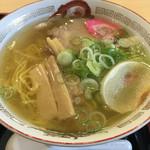 らーめん きちりん - 塩ラーメン(チャーハンセット)