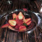 51858381 - イチゴの冷製カッペリーニ