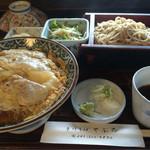 やぶ忠 - カツ丼セット 1,200円
