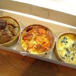 シェ・ケン - 料理写真:購入したキッシュ3種!