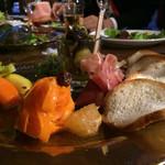 セルクル - 本日の前菜の盛り合わせ