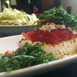 51860084 - 塩豆腐とトマトの和風カプレーゼ