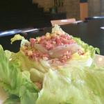 51860092 - レタスまるごと一個使ったシャキッとレタスのシーザーサラダ