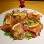 kitchen Bar Sorriso - 泉州水なすとパルマ産生ハム 980円