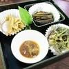 カントリーレストラン 渓流荘 - 料理写真:板取り、わらび、コシアブラ、ふきのとう味噌