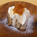 スローコーヒー - 珈琲屋さんのティラミス オレンジソース