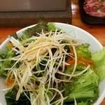 七輪焼肉 安安 - チョレギサラダ