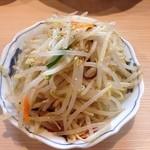 鶏焼肉東京 - 料理写真:大盛りもやしナムル