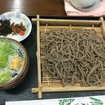 乃木そば神谷 - ざるそば、700円