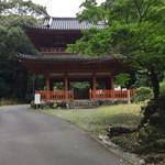 乃木そば神谷 - 方広寺の山門