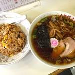 大芳飯店 - ラーメン半炒飯セット 700円