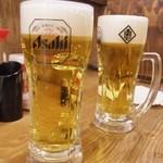 筑前屋 - ビール