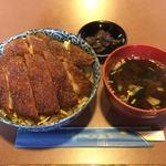 鳳 - 料理写真:かつ丼(ソース味)¥950