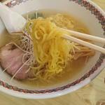 ラーメン まるいし 白石店 - 塩ラ~メン  麺リフト