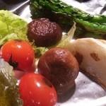 51868148 - 季節野菜4種