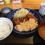 からあげ ビリー - チキン南蛮定食(税別980円)