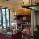 イル リトロボ - 店内のpizza焼き窯