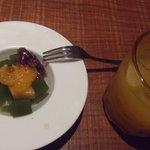 酒菜 和味 - オレンジジュース&デザート