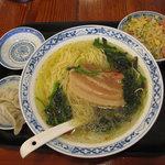 中国ラーメン揚州商人 - 豚南ばんセットB