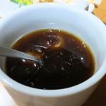 金海湾 - ランチに付くコーヒー